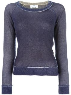 faded effect jumper Allude