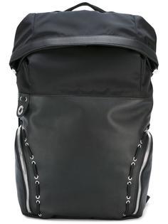 рюкзак со шнуровкой и люверсами Diesel Black Gold