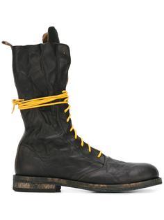 высокие ботинки на шнуровке Ann Demeulemeester