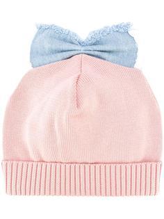 шапка Denim Bow Detail Federica Moretti
