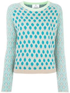 honeycomb pattern jumper Allude