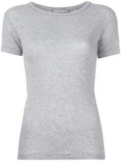однотонная футболка Vince