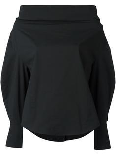 рубашка с воротником-хомутом Emilio Pucci