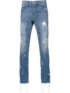 джинсы скинни с потертой отделкой Mr. Completely