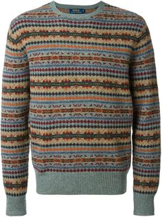 """свитер вязки """"интарсия"""" Polo Ralph Lauren"""