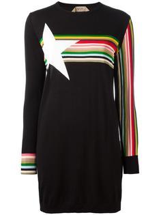 платье-толстовка с полосками Nº21