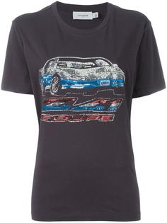sequinned car print T-shirt Coach