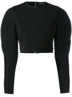 slit sleeves blouse David Koma