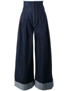 джинсовые брюки-палаццо Jacquemus