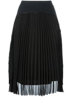 плиссированная юбка миди Maison Margiela