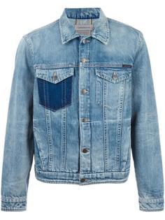 джинсовая куртка с нагрудными карманами Calvin Klein Jeans