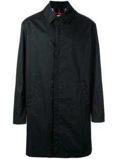 пальто с подкладкой в клетку Maison Margiela