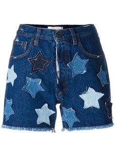 джинсовые шорты со звездами Faith Connexion