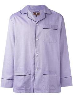lilac herringbone pyjama set  Otis Batterbee