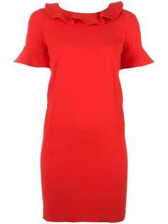 платье-шифт с оборками Twin-Set