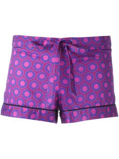 printed pyjama shorts  Otis Batterbee