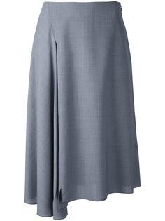 ruffled detail A-line skirt Astraet