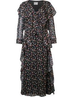 прозрачное платье с цветочным принтом Jason Wu