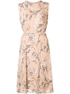 платье с цветочным рисунком Jason Wu