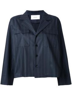 pinstripe boxy blazer Astraet
