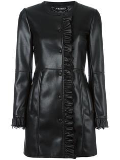 пальто с оборками Twin-Set