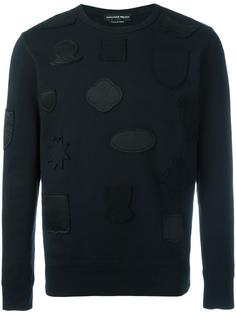 badge applique sweatshirt Alexander McQueen
