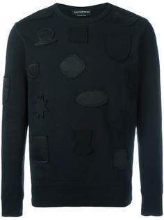 badge applique sweatshirt Alexander McQueen