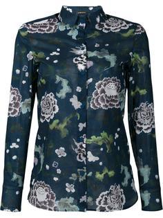 рубашка с цветочным принтом Adam Lippes
