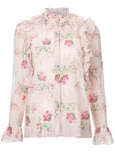floral ruffle blouse  Vilshenko