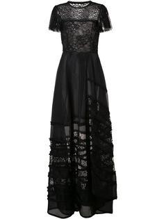 вечернее платье с кружевными вставками Jason Wu