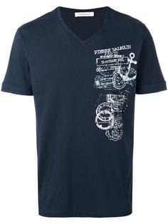 logo print T-shirt  Pierre Balmain