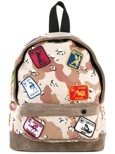 camouflage backpack Palm Angels