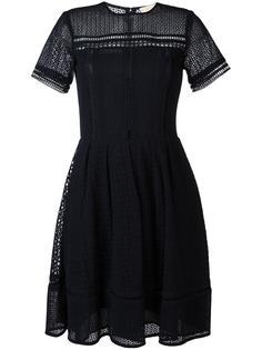 расклешенное платье с вышивкой Michael Michael Kors