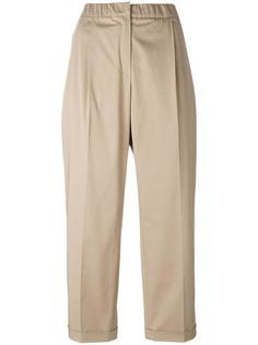 укороченные брюки  Odeeh