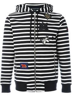 striped hoodie Alexander McQueen