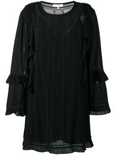 платье-шифт с рюшами Iro