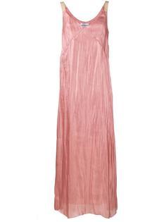 Crushed Silk Slip Dress  Walk Of Shame