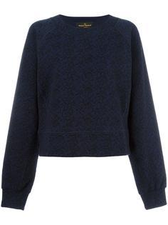 metallic embroidery sweatshirt Vivienne Westwood Anglomania