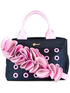 декорированная сумка-тоут с люверсами Muveil