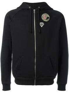 multi-patch hoodie Saint Laurent