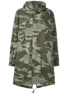 camouflage print parka  Mr & Mrs Italy