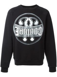 logo sweatshirt Moschino