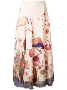 flamingo print skirt Vilshenko