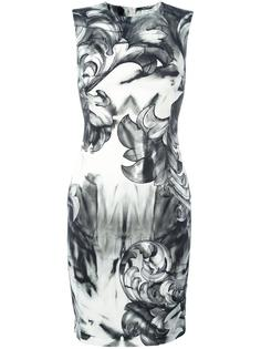 printed fitted dress Versace Collection