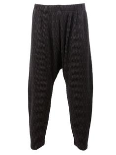 loose-fit cropped trousers Homme Plissé Issey Miyake