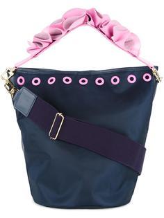 сумка-тоут с цветочным украшением на ручке Muveil
