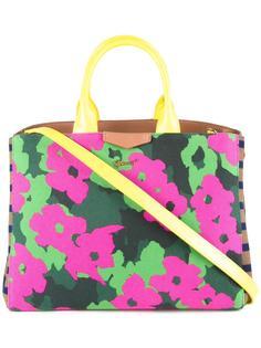 сумка-тоут с цветочным принтом Muveil