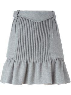 плиссированная юбка с расклешенным подолом Isabel Marant