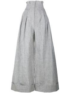 широкие брюки в тонкую полоску Jacquemus
