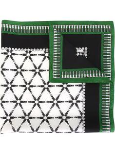 платок с принтом болтов Kris Van Assche